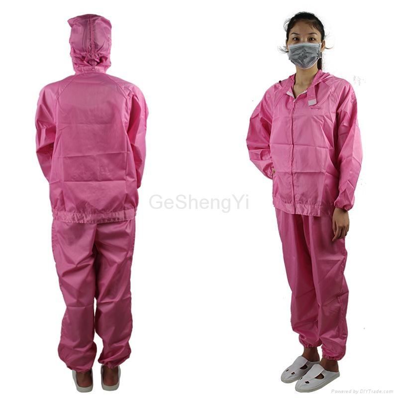 Unisex Lightweight Electronics Factory Anti-Static Workwear Size XL 5