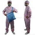 Unisex Lightweight Electronics Factory Anti-Static Workwear Size XL 2