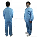 Unisex Lightweight Electronics Factory Anti-Static Workwear Size XL 4