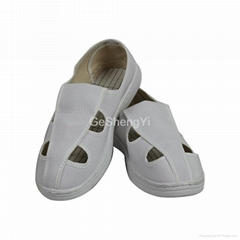 PVC Sole Dust Proof Anti Static Shoe For Workshop