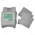 Low Lint Soft ESD  Cleanrom Wipers For Glass Clean 1