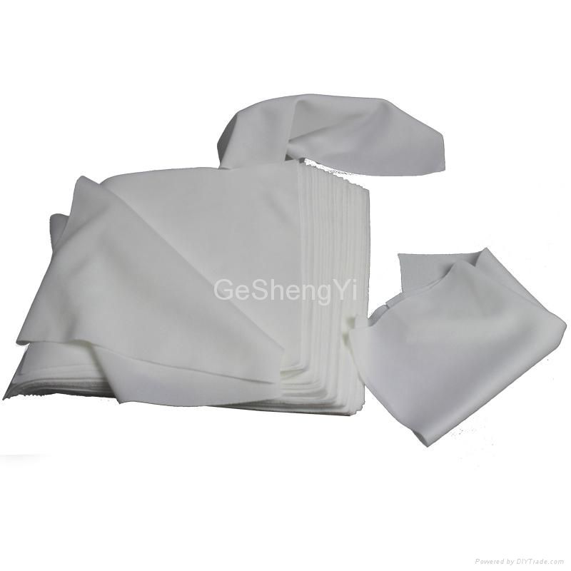 Low Lint Soft ESD  Cleanrom Wipers For Glass Clean 3