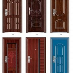 Exterior Security Steel Door