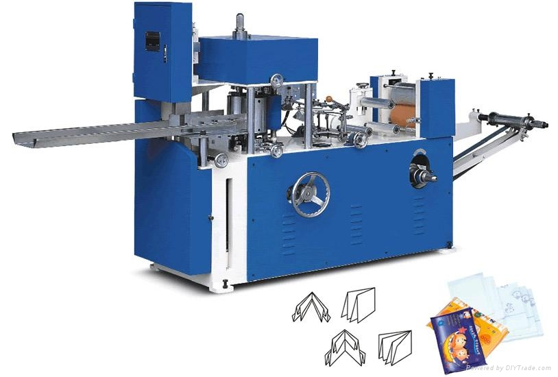 CJ-A Normal Napkin embossing and folding machine 1
