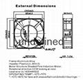 机箱机柜风扇 5