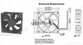 LED产业散热风扇 2