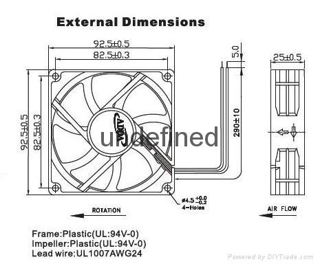 LED产业散热风扇 5