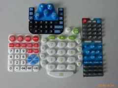 Plastic Silicone Rubber Keypad Keyboard Custom For Toy Gam Calculator