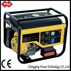 4-stroke low noise electric gasoline generator for sale