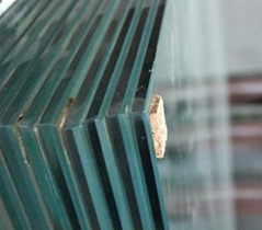 Tempered Glass for building construction