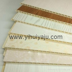 2016 hot sale PVC composite wall clad panel