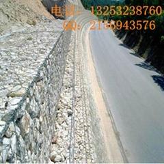 石籠網廠家供應公路防護專用加觔石籠網