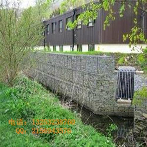 安平石笼网厂出售生态美化专用石笼网箱 4