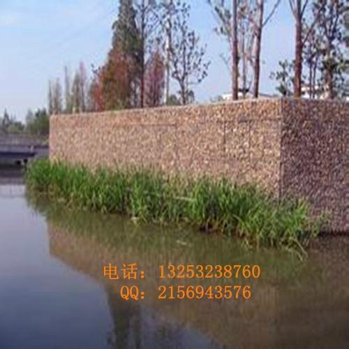 安平石笼网厂出售生态美化专用石笼网箱 3