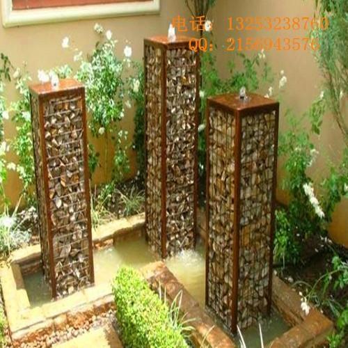 安平石笼网厂出售生态美化专用石笼网箱 1