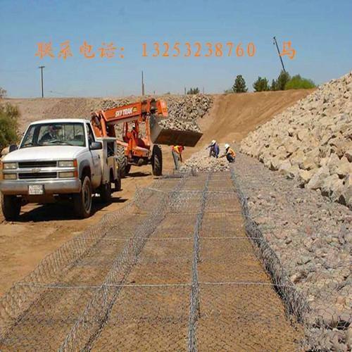 安平鑫隆出售新疆地区堤坡防护格宾网 4