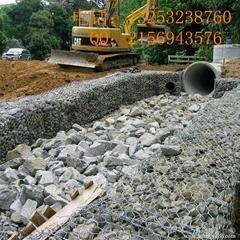 石笼网厂家直供新疆地区填海专用石笼网箱