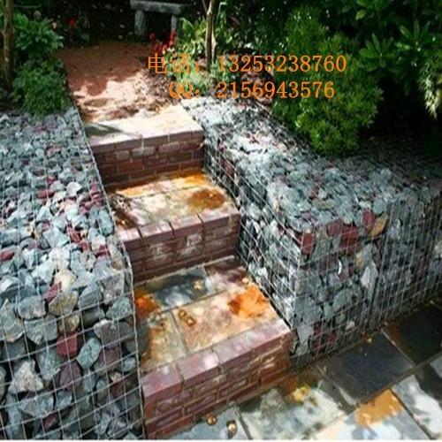 鑫隆供应生态环境美化专用石笼网箱  1