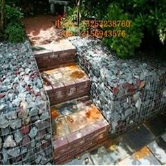 鑫隆供應生態環境美化專用石籠網箱