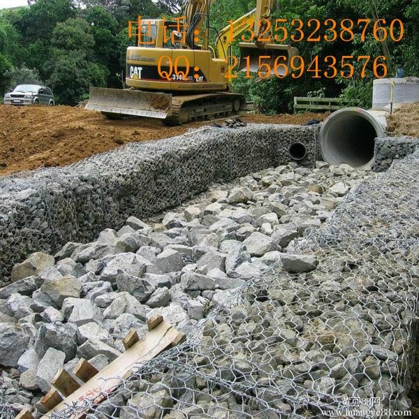 鑫隆供应沿海地区填海用网石笼网箱 2