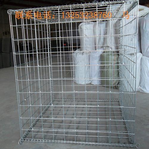 安平鑫隆出售堤坡防护专用电焊石笼网 2