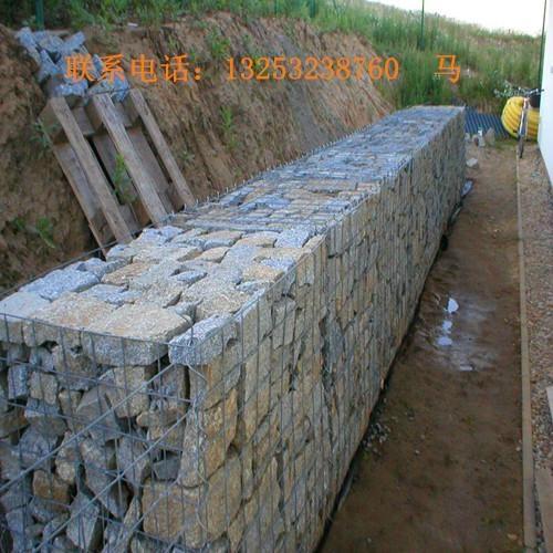 安平鑫隆出售堤坡防护专用电焊石笼网 1