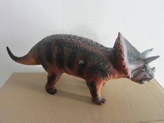 vinyl triceratops figure toy