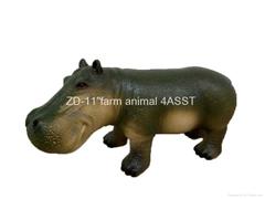 """10""""hippo figure  toy"""