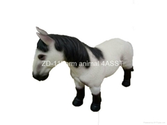 "12""Horse figure toy"