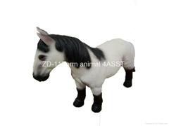 "12""Horse figure toy"