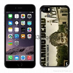 "silicon case for apple iphone 6 6s plus ""the walking dead"" 2colors"