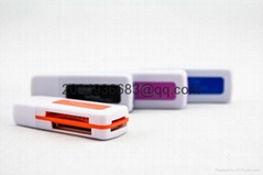all in 1 usb 3.0 memory card reader for Micro SD SDHC MS TF T-Flash M2 SD MMC 66