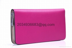 men women's leather wallet purse branded style 2016new wholesale price
