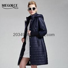 New Spring jacket coat women High Quality EuropeStyle parka Thin cotton-padded