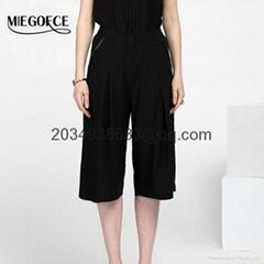 women's straight wide leg pants high waist fashion wide-leg trousers