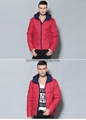 men brief paragraph with thick warm winter specials down jacket hoodie 9