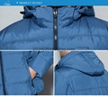 men brief paragraph with thick warm winter specials down jacket hoodie 6