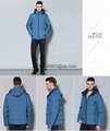 men brief paragraph with thick warm winter specials down jacket hoodie 12