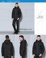 men brief paragraph with thick warm winter specials down jacket hoodie 10