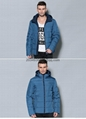 men brief paragraph with thick warm winter specials down jacket hoodie 13