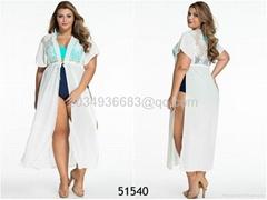 Plus Size Gingham Skirt Top Tankini Swimsuit women sexy dress Teddies sexy ling