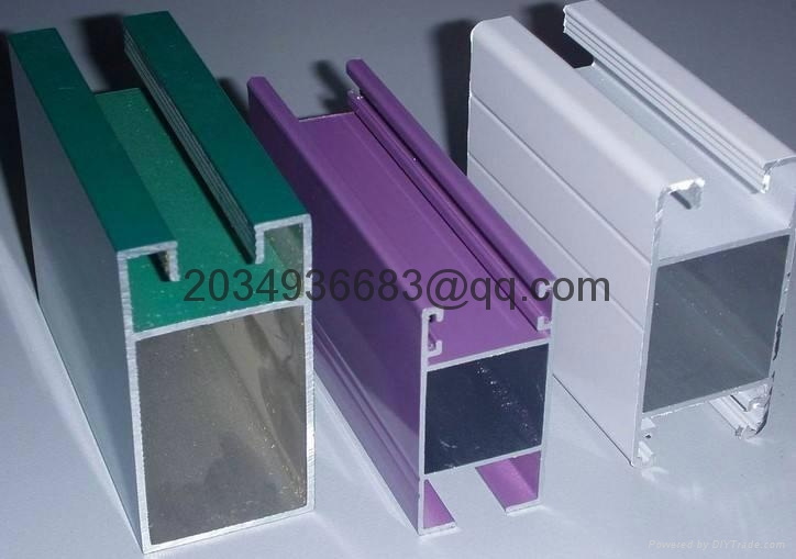 extrude aluminum profile for window door hand railing 5
