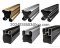 aluminium square pipe for industry 2017 new products aluminium u channel extrusi