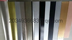 coated aluminum profile