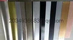 coated aluminum profile