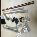 coated aluminum profile extrude for window door curtain wall