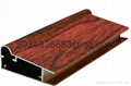 OEM T5 extruded coated wooden partern