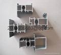 bridge broken heat insulation PVC coated aluminum profile