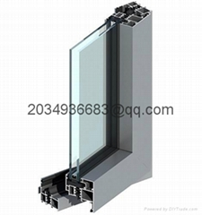 bridge broken heat insulation PVC coated aluminum profile