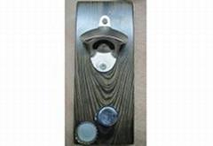 Wall Mount Bottle Opener Free Drop Magnet Catcher DY-BO19
